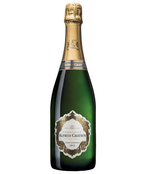 Champagne Grands Cru Blanc de Blancs Alfred Gratien 2012 France