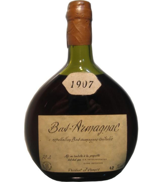Bas-Armagnac 42° 1907
